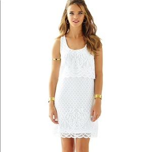 Lilly Pulitzer Stelle white tank dress